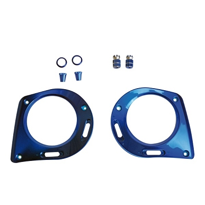 mz-32 Face Plate and Gimbal Extensions - Blue
