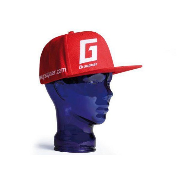 Graupner Embroidered Ball Cap – Red