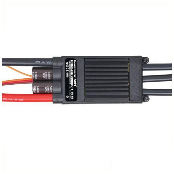 Brushless Control + T 60A HV ESC - BEC Telemetry