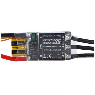 Brushless Control +T 35A ESC - BEC Telemetry