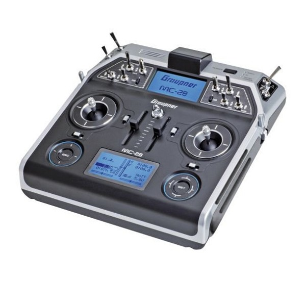 mc-28 16 Channel 2.4GHz HoTT Radio System Mode 1/2 - GR-18 PRO
